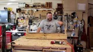 3 minute pallet wood garden planter box that you can build.