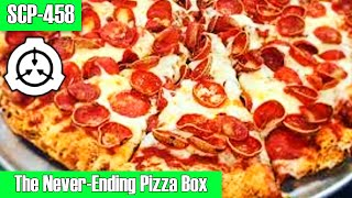scp-458 The Never-ending Pizza Box | Object Class Safe | Food scp / Container scp