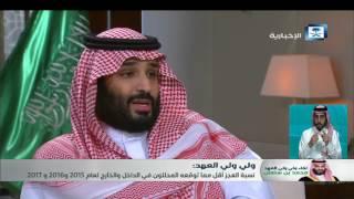الأمير محمد بن سلمان: قرار إيقاف البدلات كان مؤقتاً.. وتم مراجعتها وإعادتها في الوقت المناسب