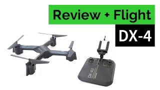Sharper Image DX-4 Streaming Drone - Review and Flight
