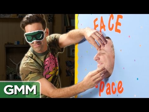 Blind Face Touching Challenge