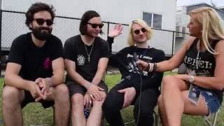 Dinosaur Pileup Interview - Rock Allegiance