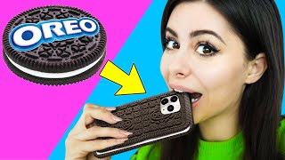 WEIRD DIY PHONE CASES you wont believe exist !