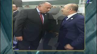 أحمد موسى: «سامح شكري زنق وزير خارجية تركيا في الحيط بفنزويلا»