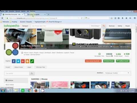 Trik Dropship -  Scrape Ribuan Produk Tokopedia Tercepat Tanpa  Imacros