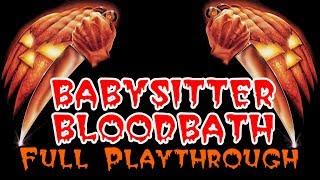 Babysitter Bloodbath: Full Playthrough (Free Indie Horror Gameplay)