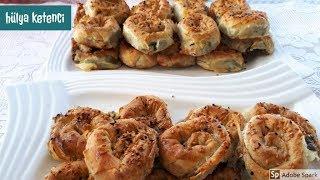 Ispanaklı Gül Börek Tarifi - Hülya ketenci - Börek tarifleri