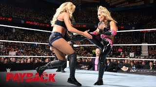 Natalya vs. Charlotte - WWE Women's Title Match: WWE Payback 2016 on WWE Network