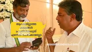 ഡി വിജയകുമാറിനോട് പരസ്യമായി നീരസം പ്രകടിപ്പിച്ച് സജി ചെറിയാന്