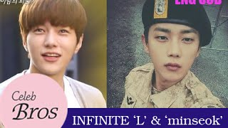 INFINITE L & Minseok, Celeb Bros S6 EP3