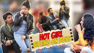 Hot Girl Sitting on Boys Prank - Prank Gone Wrong | Prank In India | The HunGama Films