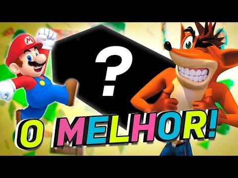 GANHEI O MELHOR VÍDEO GAME DO UNIVERSO!