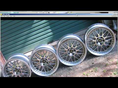Work VS-XX alloy whells rims 18 8.5J +31 / 9.5J +31   5 x 114,3mm