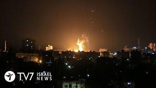 Palestinian Islamists fire a barrage of rockets toward Israel - TV7 Israel News 20.06.18