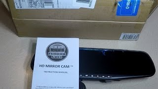 HD Car Mirror Dash Cam from HSN Honest Review