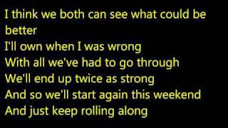 See I'm Smiling Karaoke (Piano Track)