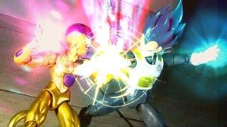 Dragon Ball Z[Fukkatsu no F]Stop Motion-Vegeta SSGSS and Goku SSGSS VS Golden Frieza(Part.FINAL)