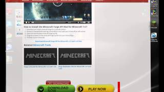 How to Download and Install Minecraft Forge For Minecraft 1.4.7 (EASY)