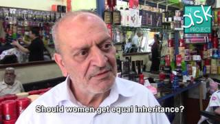 Palestinians: Is it ok that women receive half of men for inheritance?
