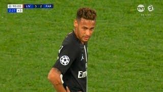 Neymar vs Liverpool (Away) HD 720p (18/09/2018)