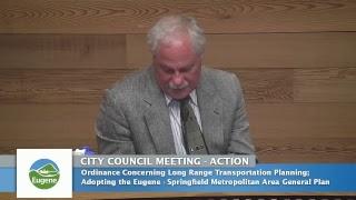Eugene City Council Meeting: June 26, 2017