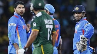 Biggest Fight In Cricket History Part .2   India Vs Pakistan (Updated 2016)