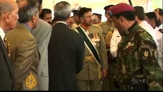 Pervez Musharraf's career