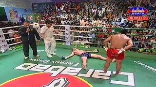 Kun Khmer, Roeung Sohporn Vs Laos, Thav Ou Lan, SEATV boxing, 04 Feb 2017, Carabao boxing,