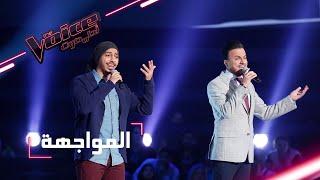 #MBCTheVoice - مرحلة المواجهة - علي رشيد، وعبد الرحمن المفرج يؤدّيان أغنية 'مذهلة'