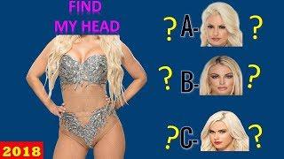 WWE QUIZ - Only True WWE Fans Can Find WWE DIVAS HEAD! [HD]