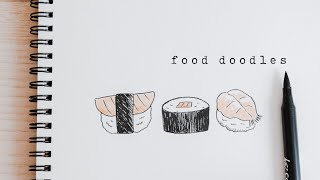 Food Doodles For Beginners