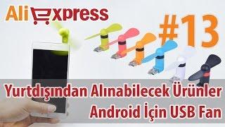 Android Telefon İçin USB Mini Fanlar - #13 - Yurtdışından Alınabilecek Ürünler #AliExpress