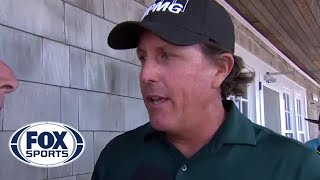 Phil Mickelson on his two-stroke penalty on the 13th at Shinnecock Hills | 2018 U.S. Open