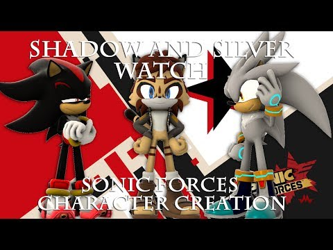 Shadow And Silver Watch Sonic Forces Character Creation