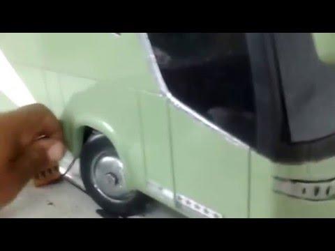 Controle remoto Ônibus G7 caseiro