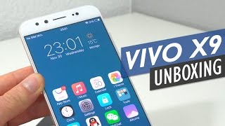 Vivo X9 Unboxing With Detailed First Look (English)