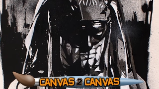 """Demon King"" Finn Bálor stomps through the canvas: WWE Canvas 2 Canvas"