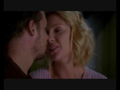 Alex & Izzie kisses Seasons 4 & 5