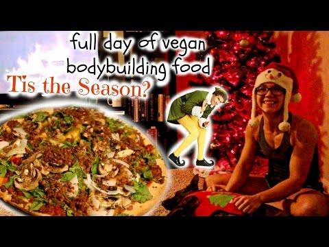 FULL DAY OF FOOD FEMALE VEGAN BODYBUILDER