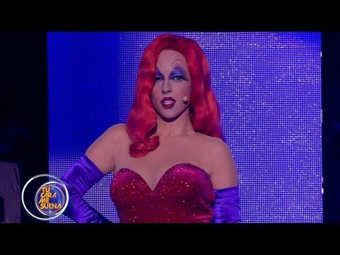 Ruth Lorenzo imita a Jessica Rabbit - TCMS4
