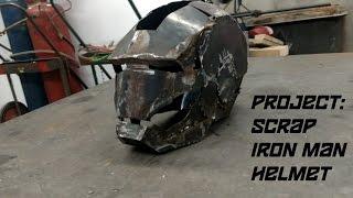 Project: Scrap Metal Iron Man Helmet