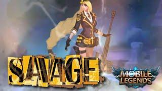 LESLIE 5X SAVAGE 😱 | MOBILE LEGENDS