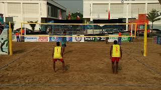 HL วอลเลย์บอลชายหาด U19 ชิงแชมป์เอเชีย รอบ 16 ทีม ชาย ไทย - อินเดีย