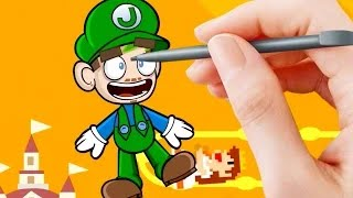 Jacksepticeye Animated | Super Mario Maker | Backwards