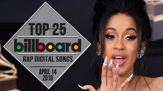 Top 25 • Billboard Rap Songs • April 14, 2018   Download-Charts