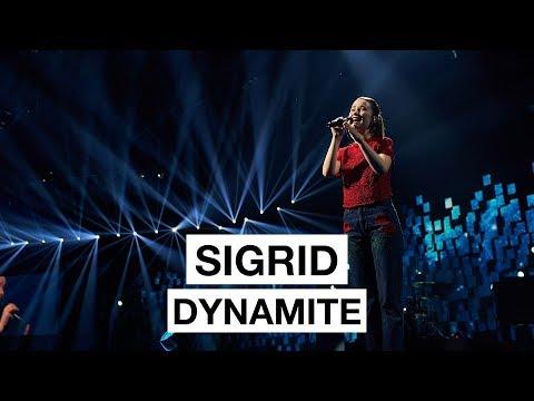 Sigrid Dynamite The 2017 Nobel Peace Prize Concert