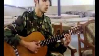 Iranian soldier with great voice سرباز خوش صدا