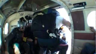 Ashish chopra sky diving
