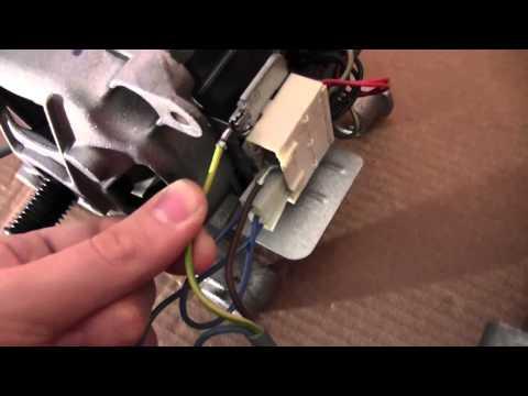 Cablaggio e funzionamento di un motore a collettore a spazzole da ...