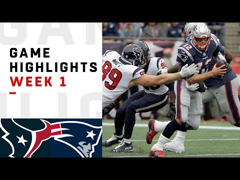 Xxx Mp4 Texans Vs Patriots Week 1 Highlights NFL 2018 3gp Sex